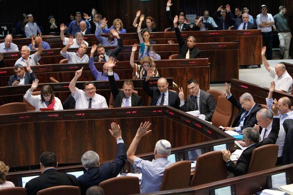 Kneszet: Új törvénnyel kerülik meg a költségvetés hiányát