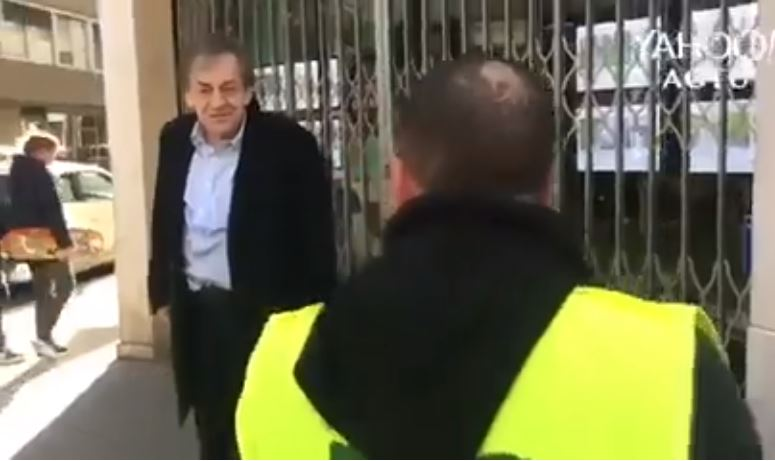 Két hónap felfüggesztettet kapott Alain Finkielkraut szidalmazója