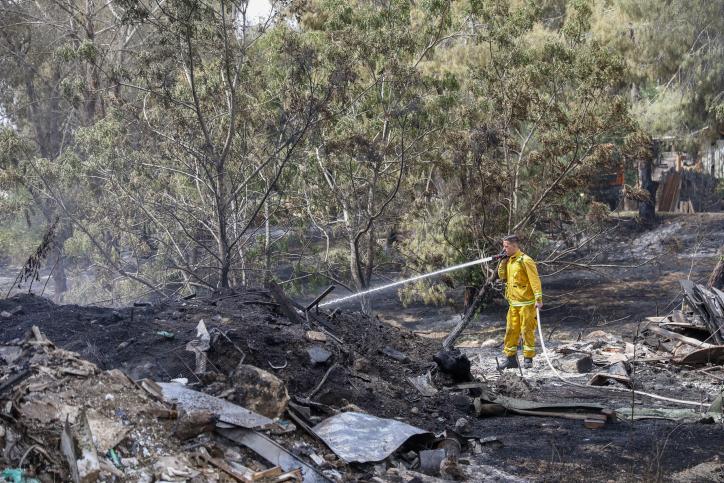 Tűzvészek Izraelben – elpusztult a Soá mártírjainak emlékére telepített erdő