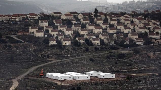 Izrael 1355 új telepeslakást épít