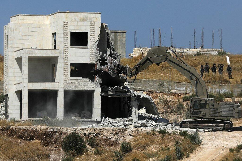 Házbontás Jeruzsálem szélén: Gilad Erdan visszaszólt az EU-nak