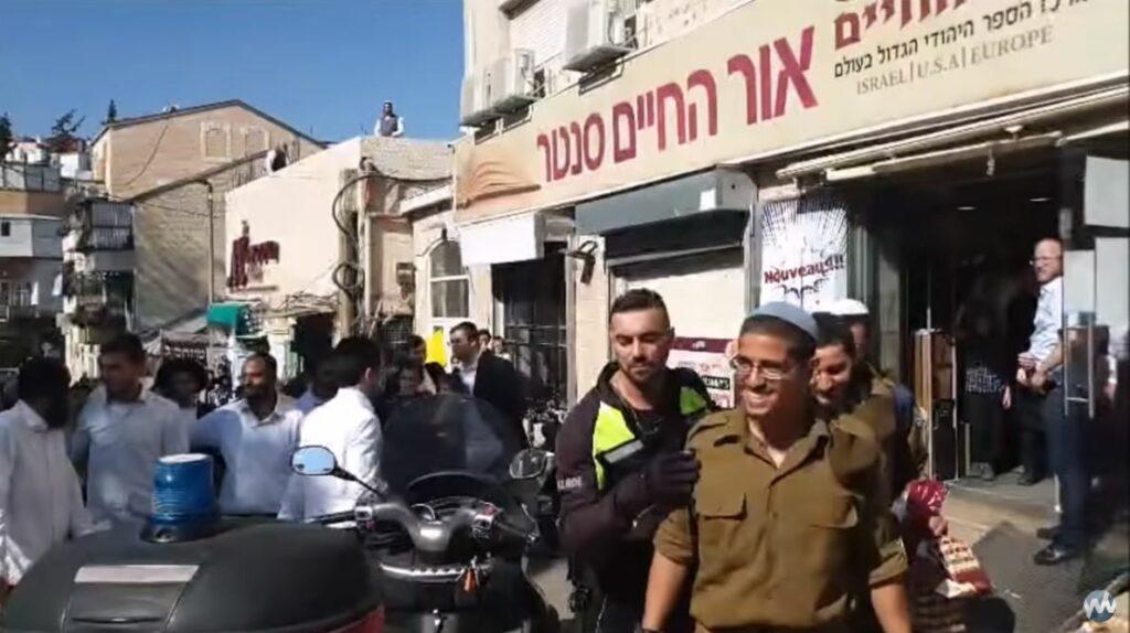 Ultraortodoxok támadtak egy katonára Mea Searimban