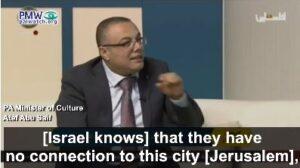 Palesztin kulturális miniszter: A Biblia szerzője hazudik, soha nem éltek itt zsidók