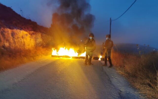 Összecsapás zsidó telepesek és izraeli határrendészek között
