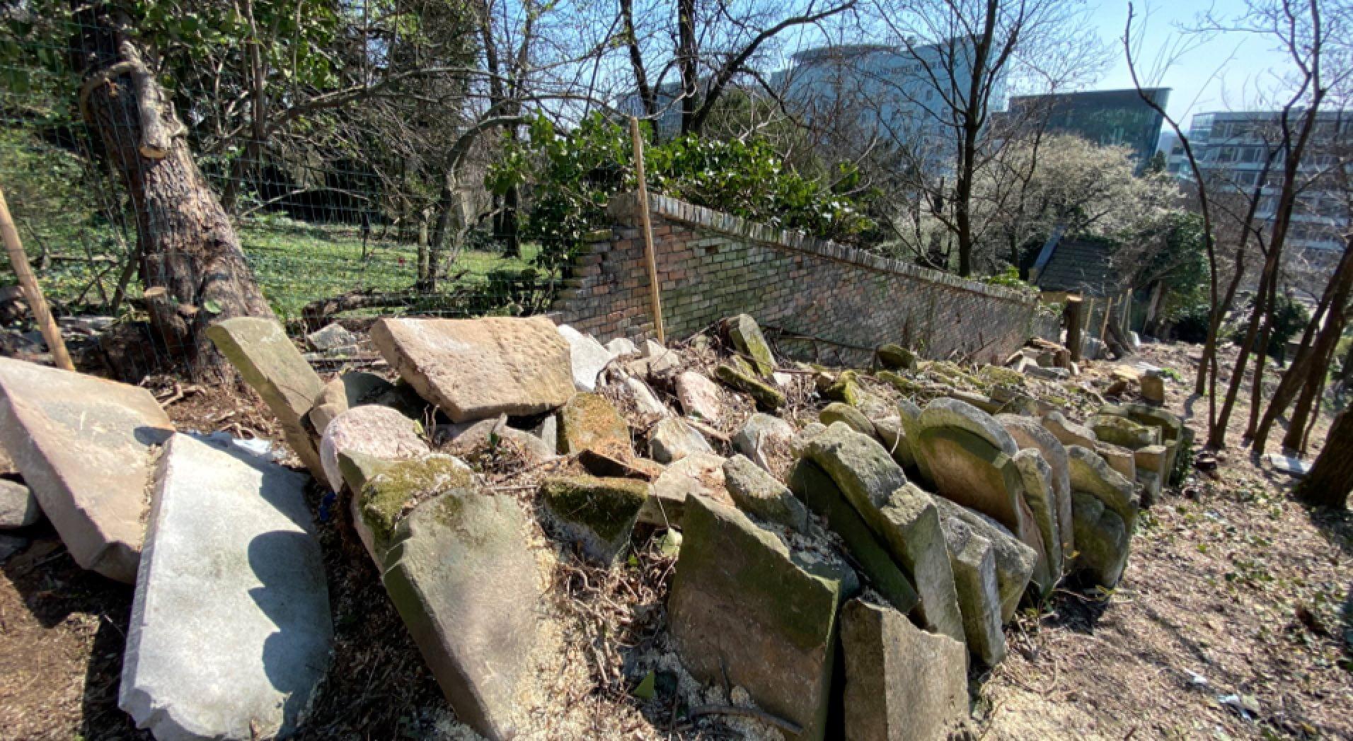Pozsony: Több száz zsidó sírkő került elő   Szombat Online
