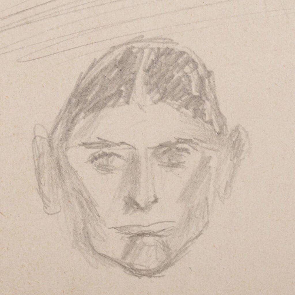 Franz Kafka sokáig lappangó rajzai az Izraeli Nemzeti Könyvtár honlapján   Szombat Online