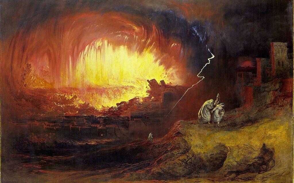 Kozmikus robbanás ihlethette Szodoma történetét