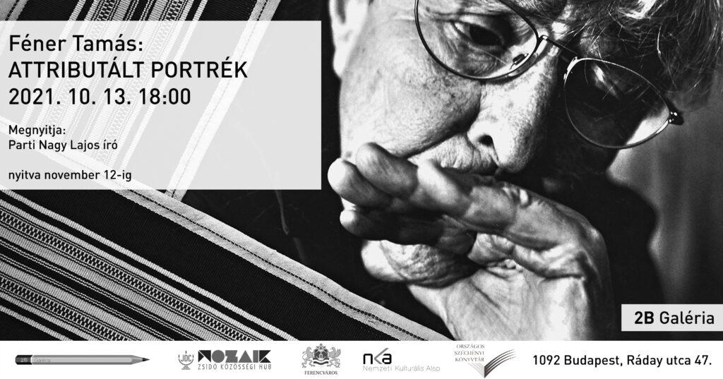 Féner Tamás kiállítás nyílik a 2B Galériában | Szombat Online